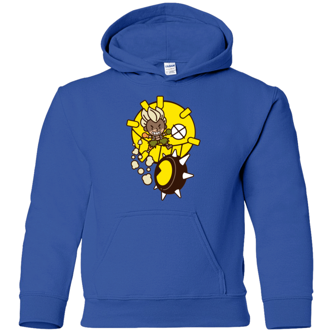 Sweatshirts Royal / YS Fire in the Hole Youth Hoodie