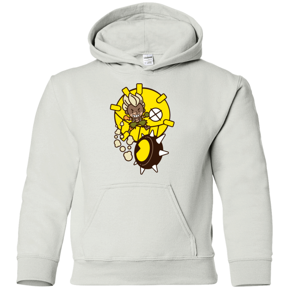 Sweatshirts White / YS Fire in the Hole Youth Hoodie