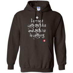 Sweatshirts Dark Chocolate / Small Force Mantra White Pullover Hoodie
