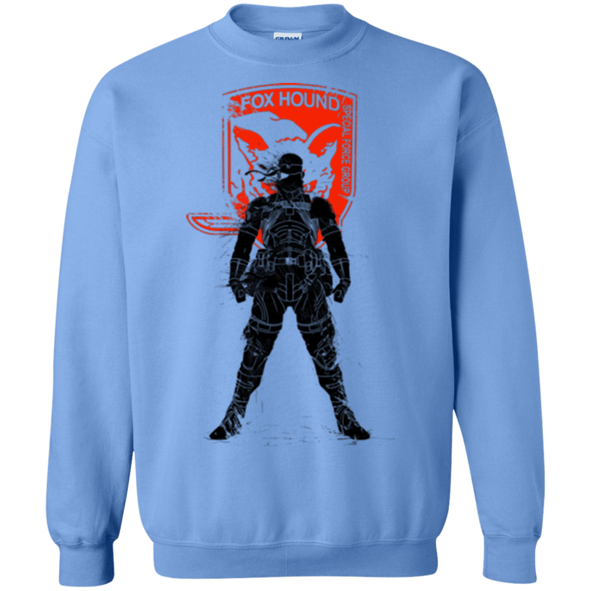 Sweatshirts Carolina Blue / Small Fox Hound (1) Crewneck Sweatshirt