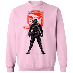 Sweatshirts Light Pink / Small Fox Hound (1) Crewneck Sweatshirt