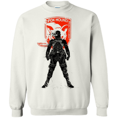 Sweatshirts White / Small Fox Hound (1) Crewneck Sweatshirt