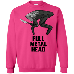 Sweatshirts Heliconia / S Full Metal Head Crewneck Sweatshirt