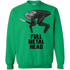 Sweatshirts Irish Green / S Full Metal Head Crewneck Sweatshirt