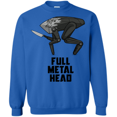 Sweatshirts Royal / S Full Metal Head Crewneck Sweatshirt