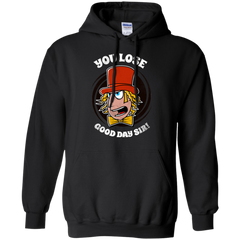 Sweatshirts Black / Small Good Day Sir Pullover Hoodie