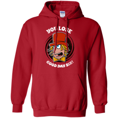Sweatshirts Red / Small Good Day Sir Pullover Hoodie
