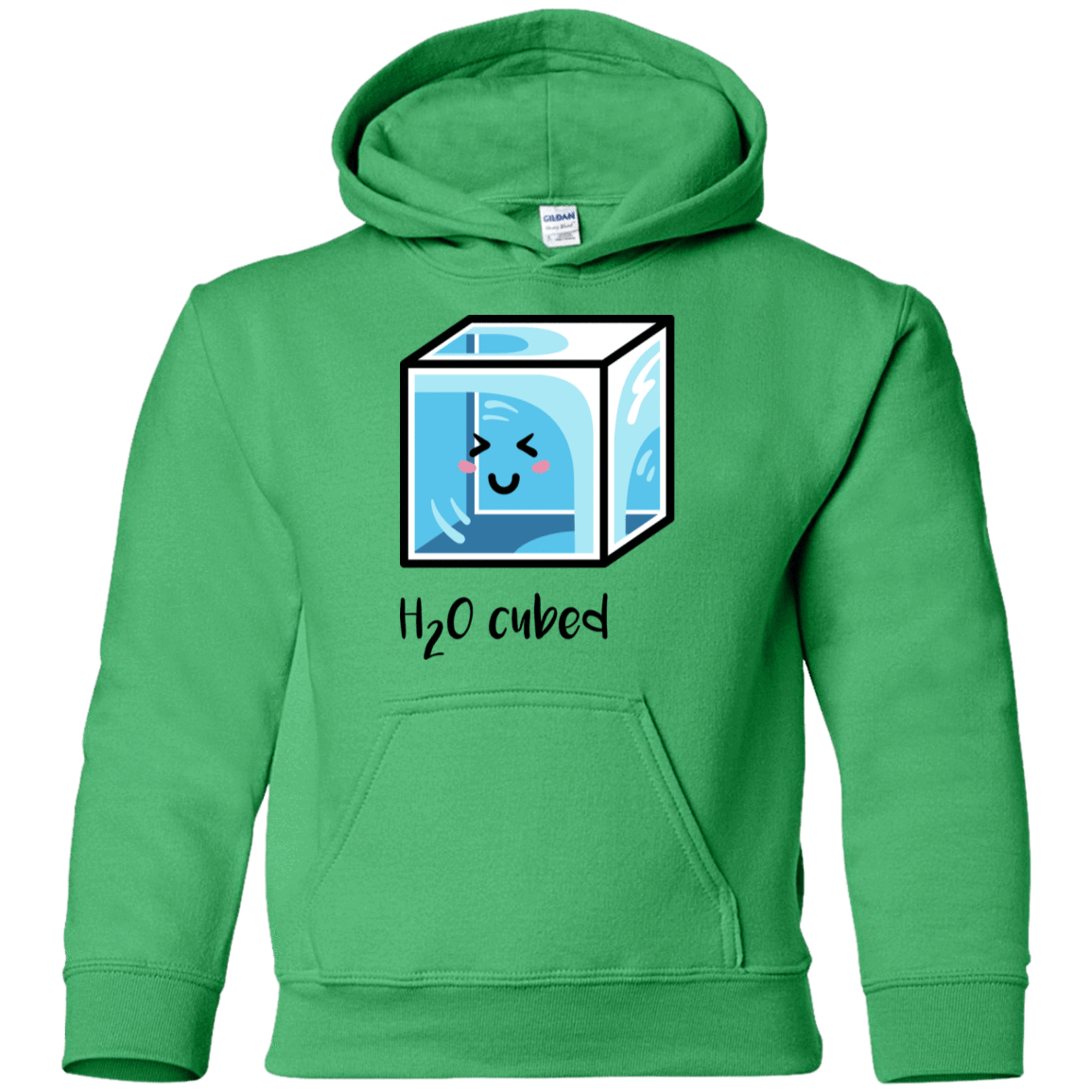 Sweatshirts Irish Green / YS H2O Cubed Youth Hoodie