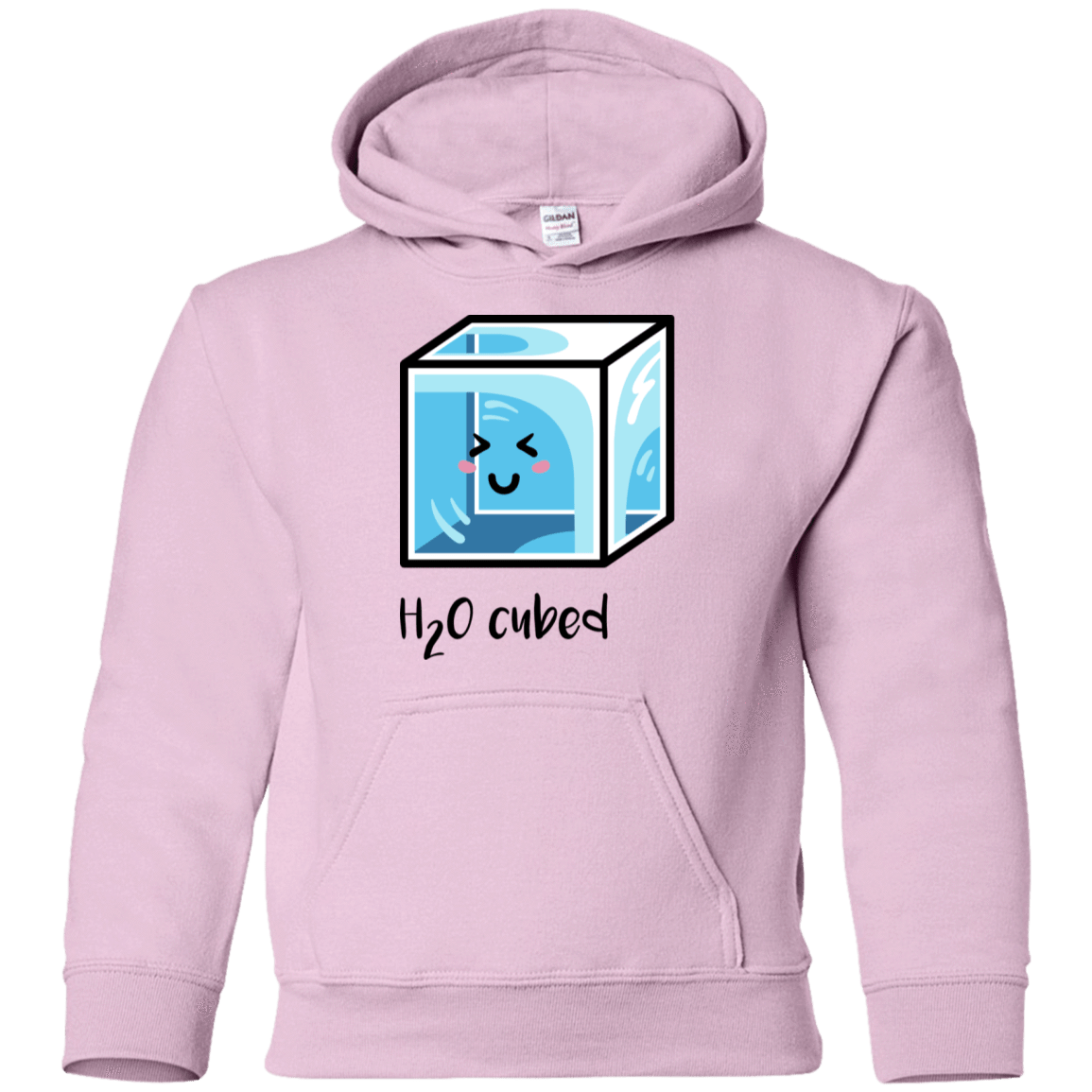 Sweatshirts Light Pink / YS H2O Cubed Youth Hoodie