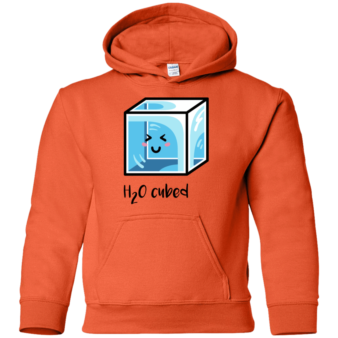 Sweatshirts Orange / YS H2O Cubed Youth Hoodie