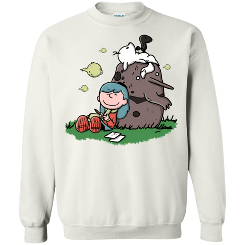 Hilda Brown Crewneck Sweatshirt