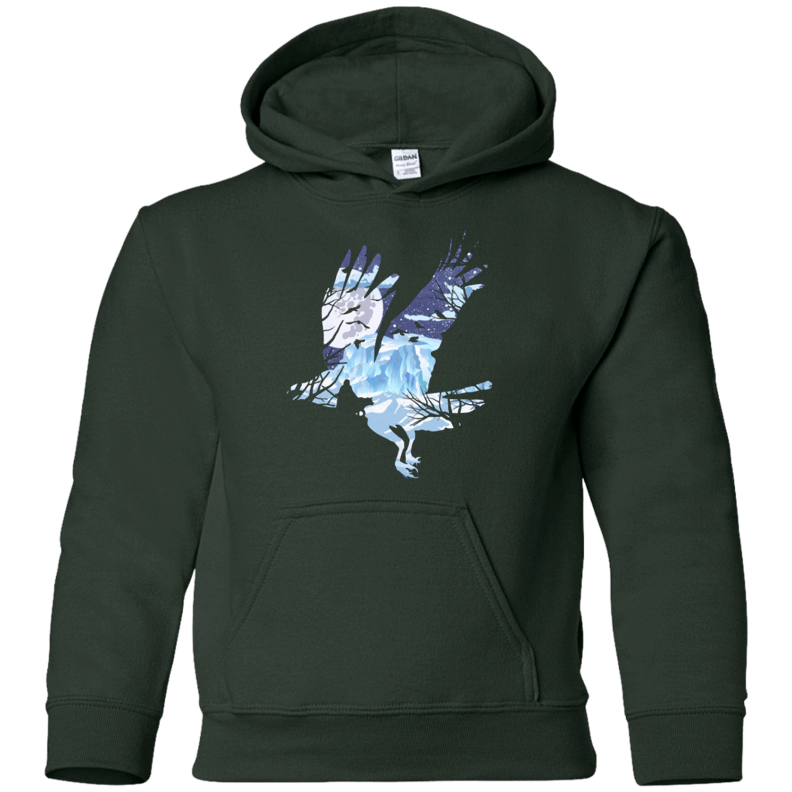 Sweatshirts Forest Green / YS I know nothing Youth Hoodie
