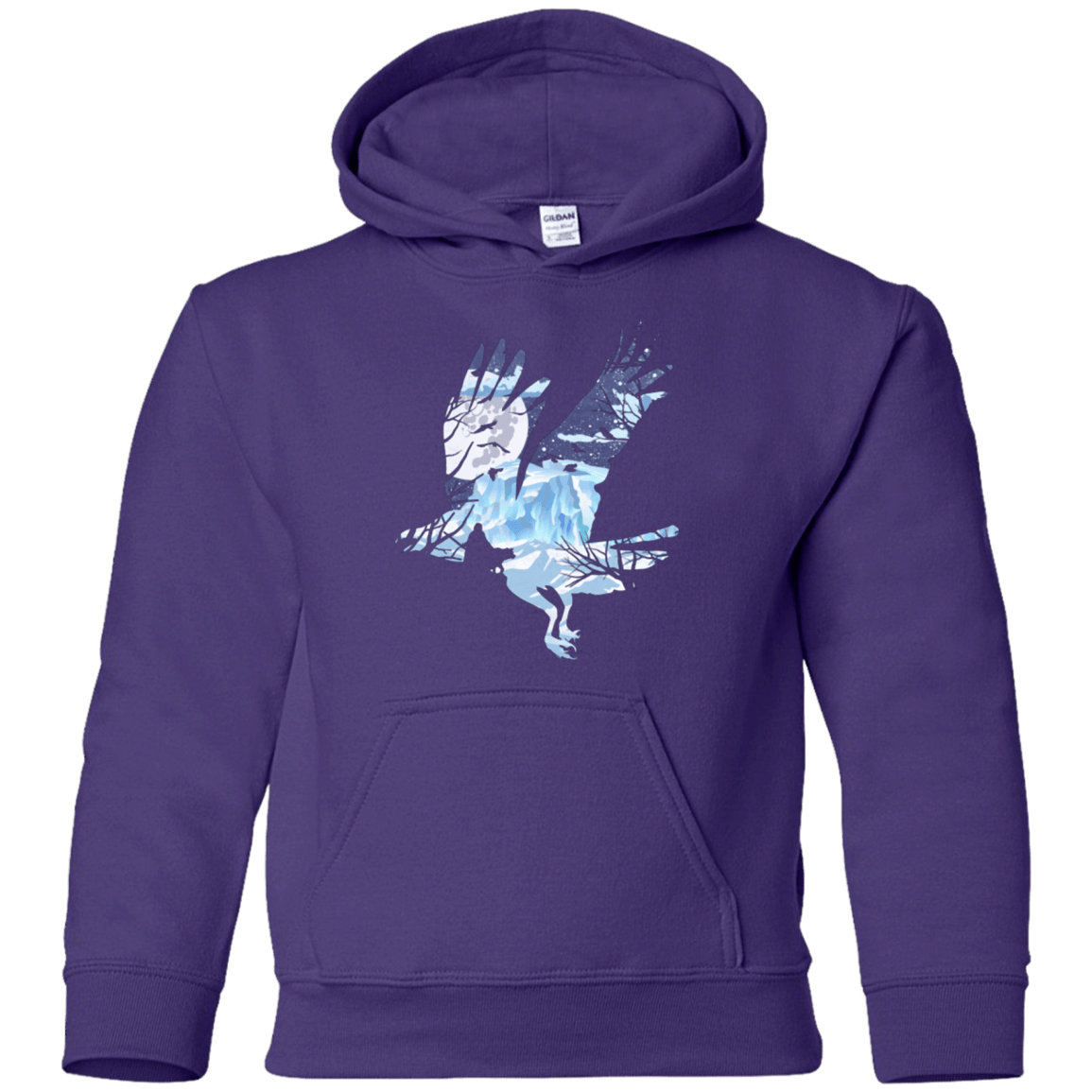 Sweatshirts Purple / YS I know nothing Youth Hoodie