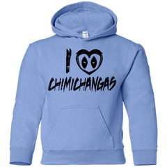 I Love Chimichangas Youth Hoodie