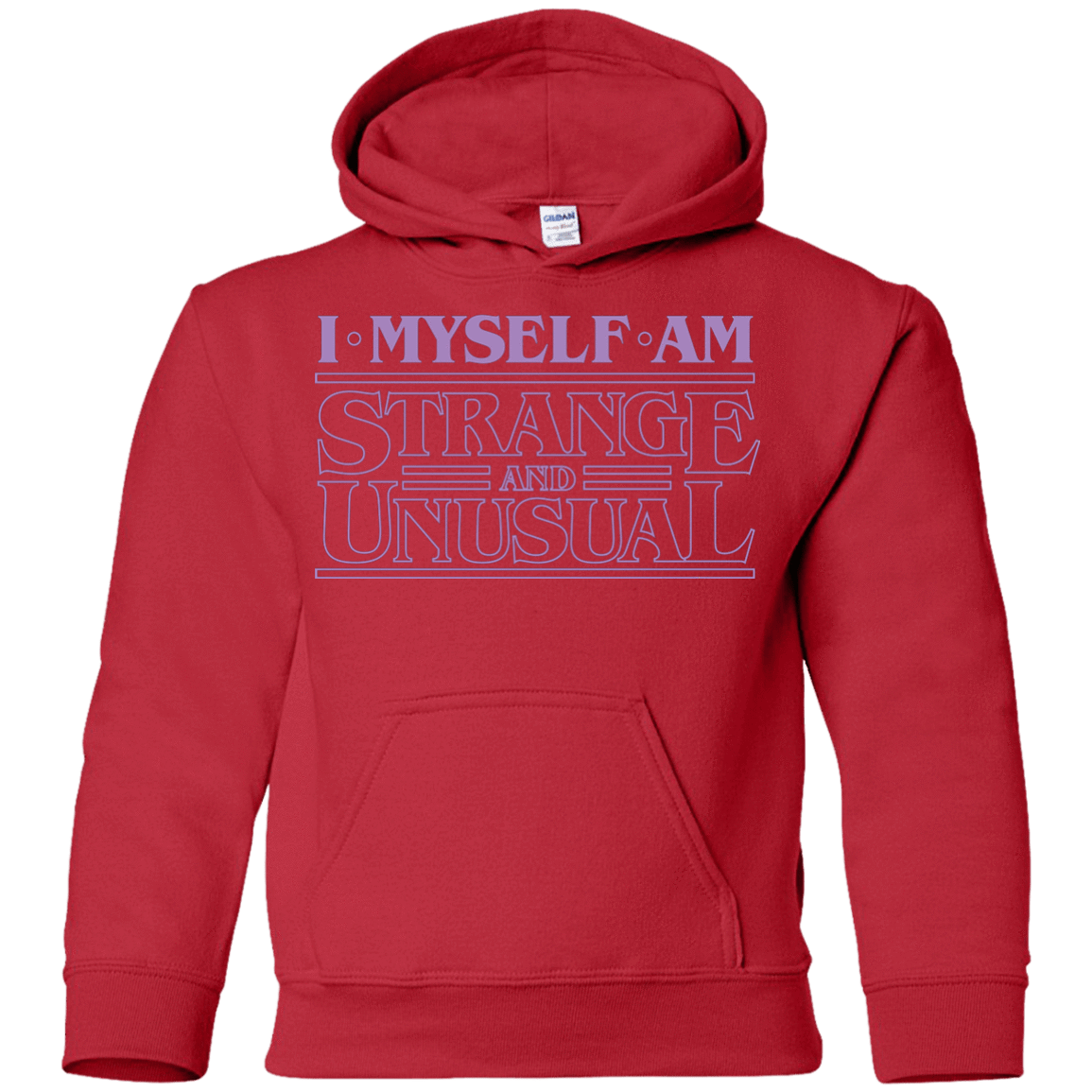 I Myself Am Strange And Unusual Youth Hoodie