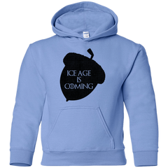 Sweatshirts Carolina Blue / YS Ice coming Youth Hoodie