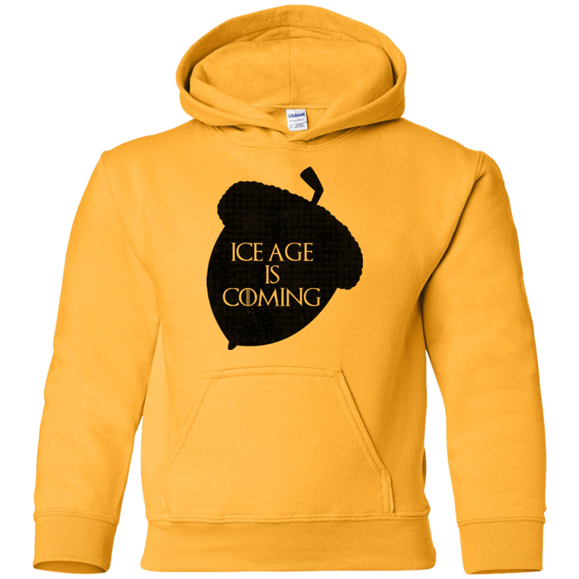 Sweatshirts Gold / YS Ice coming Youth Hoodie
