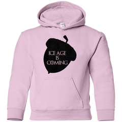 Sweatshirts Light Pink / YS Ice coming Youth Hoodie