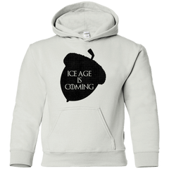 Sweatshirts White / YS Ice coming Youth Hoodie