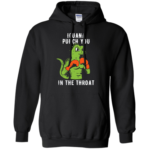 Iguana Punch You Pullover Hoodie