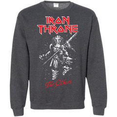 Sweatshirts Dark Heather / Small Iron Throne Crewneck Sweatshirt