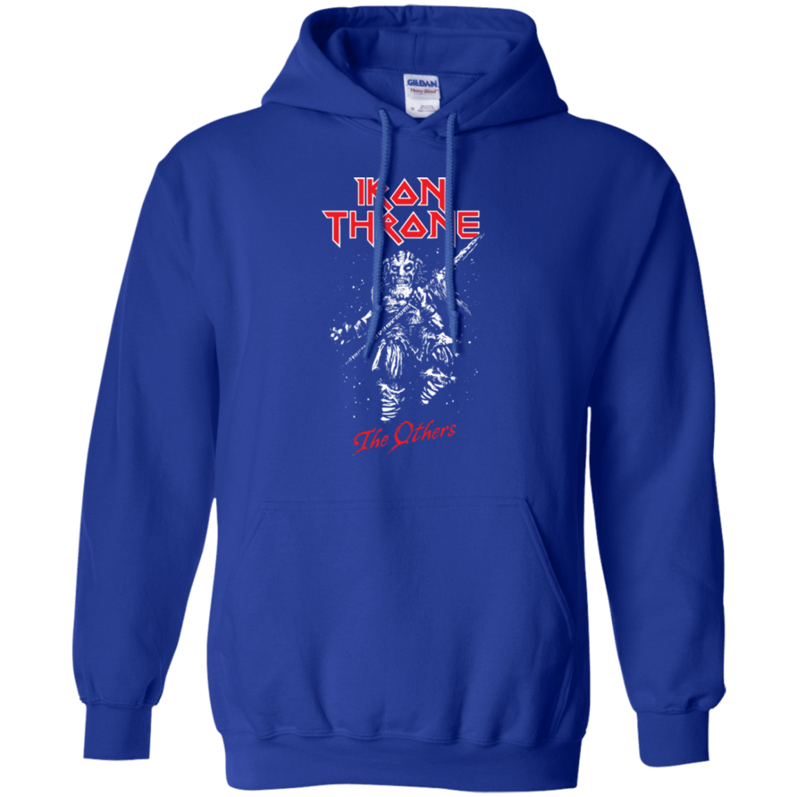 Sweatshirts Royal / Small Iron Throne Pullover Hoodie