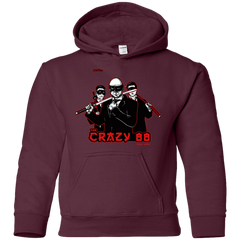 Sweatshirts Maroon / YS Join The Gang Youth Hoodie