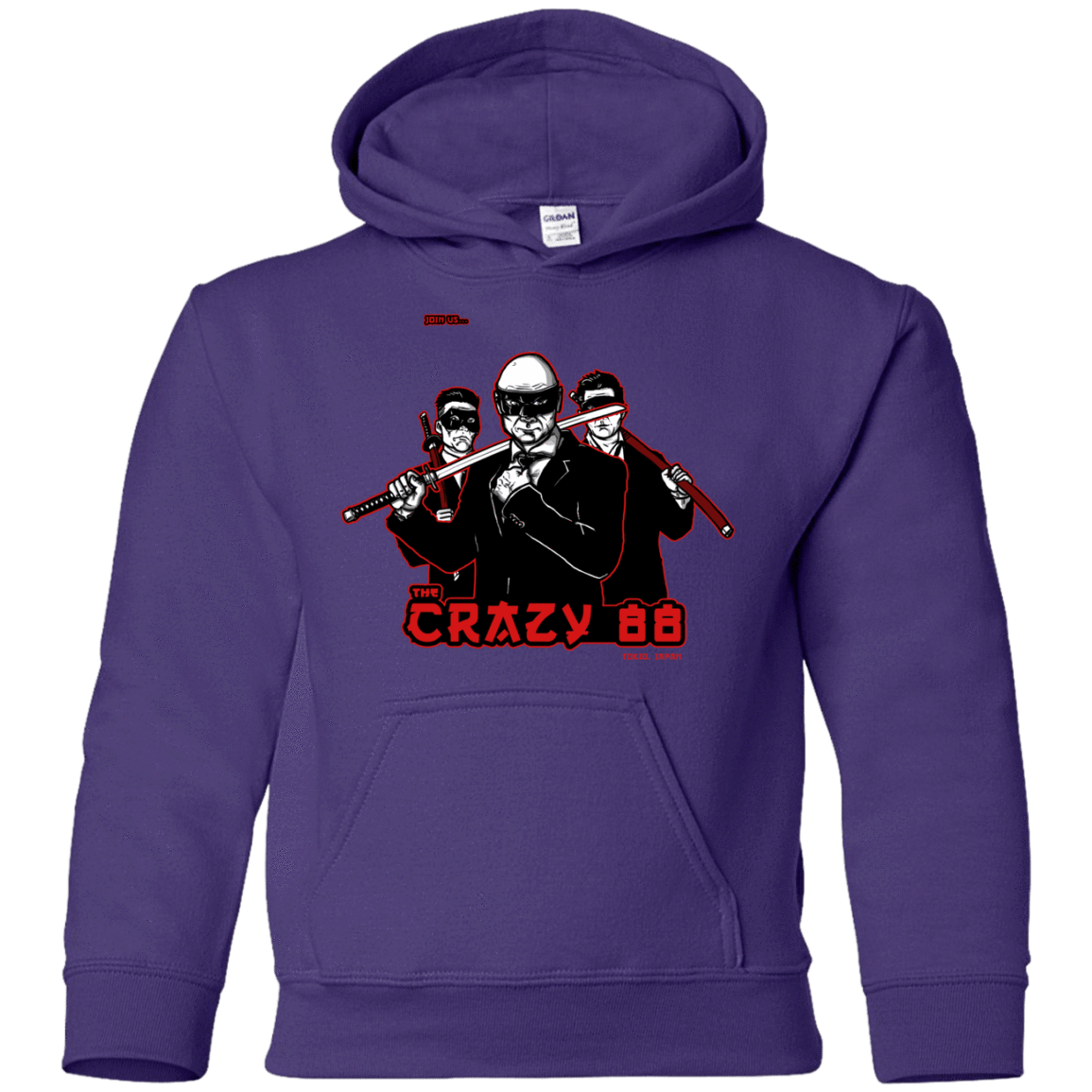 Sweatshirts Purple / YS Join The Gang Youth Hoodie