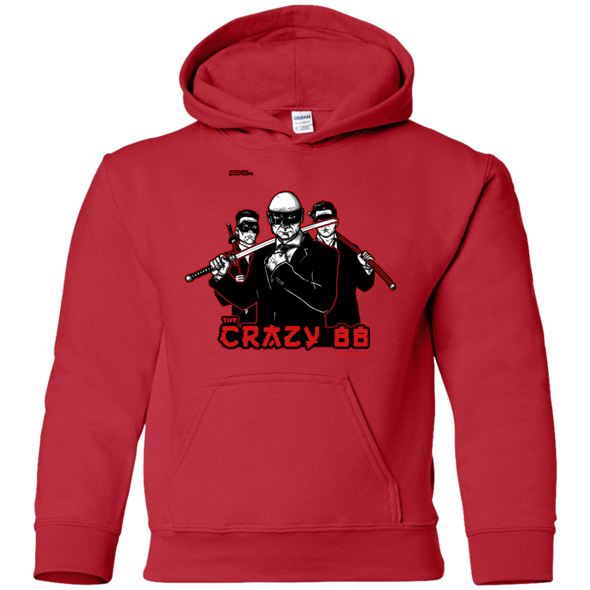 Sweatshirts Red / YS Join The Gang Youth Hoodie