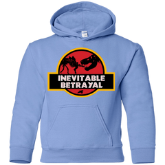 Sweatshirts Carolina Blue / YS JURASSIC BETRAYAL Youth Hoodie