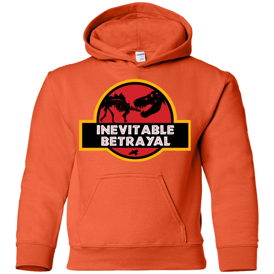 Sweatshirts Orange / YS JURASSIC BETRAYAL Youth Hoodie