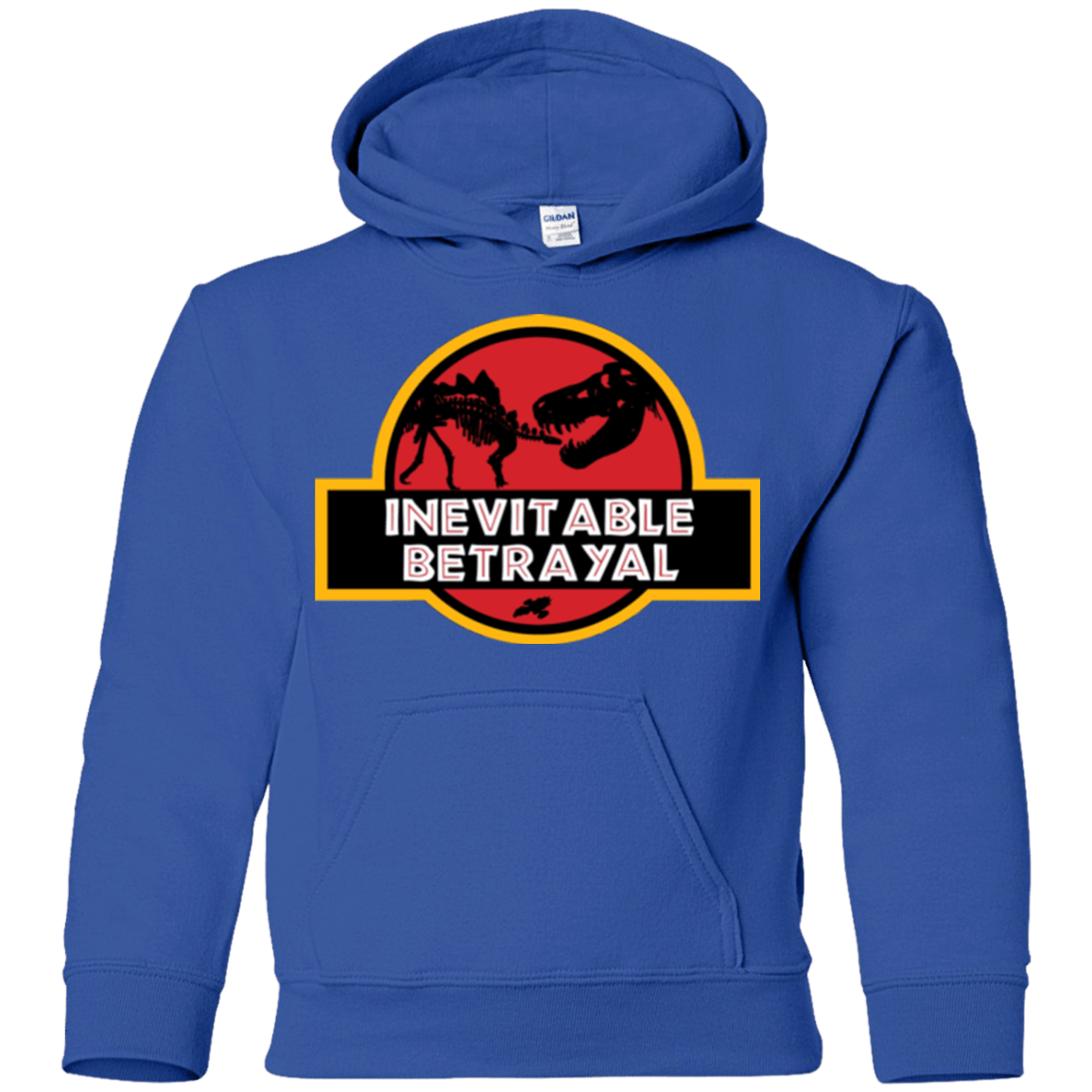 Sweatshirts Royal / YS JURASSIC BETRAYAL Youth Hoodie