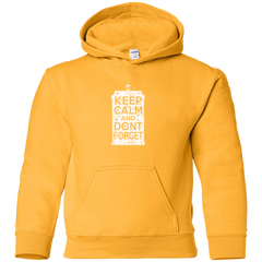 Sweatshirts Gold / YS KCDF Tardis Youth Hoodie