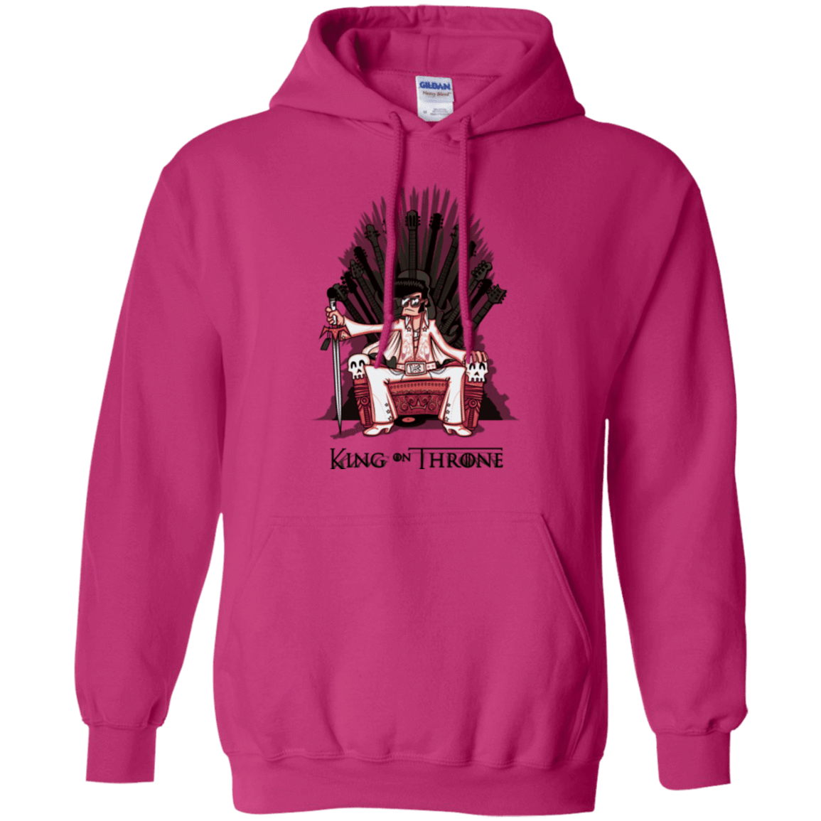 Sweatshirts Heliconia / Small King on Throne Pullover Hoodie