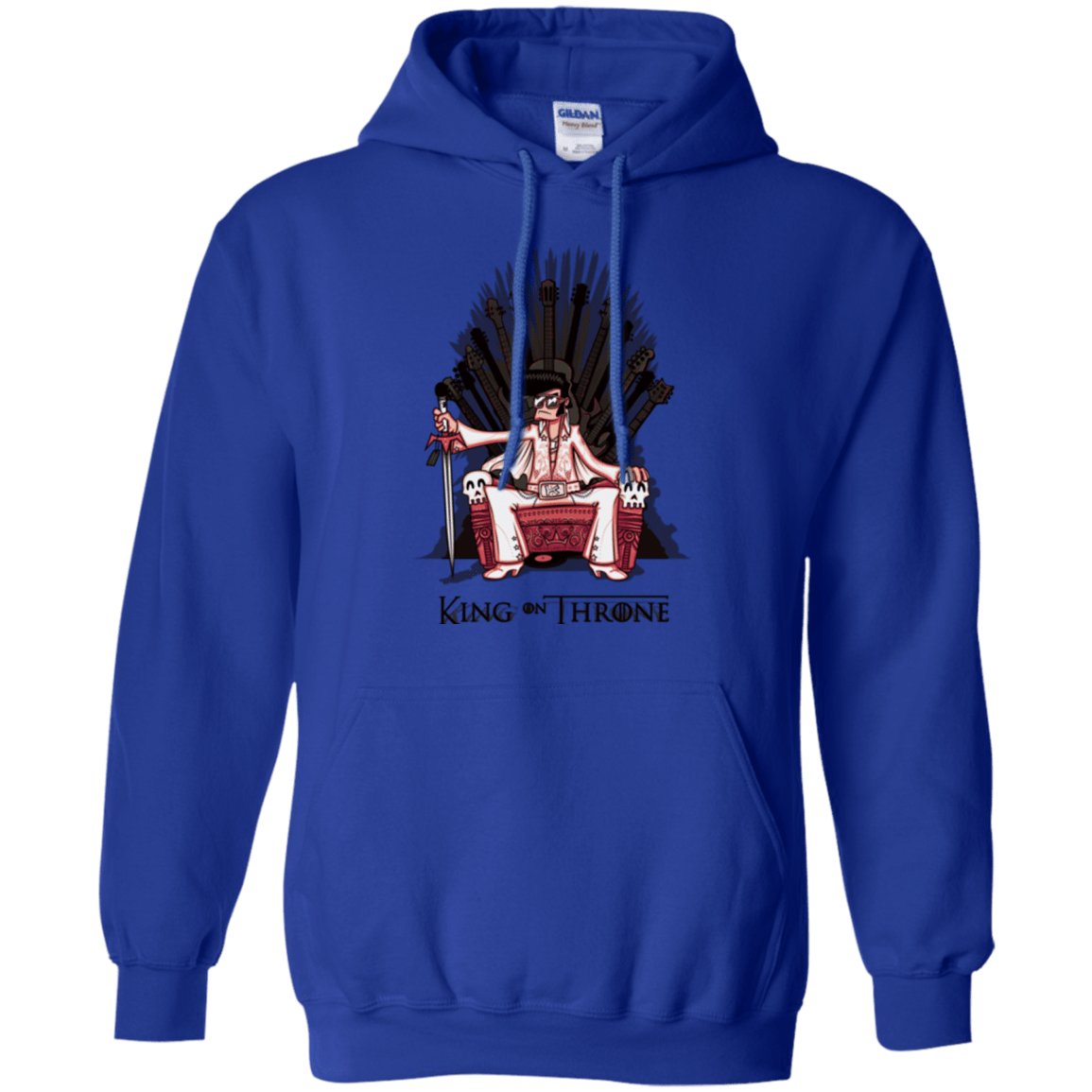 Sweatshirts Royal / Small King on Throne Pullover Hoodie