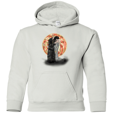 Kiss Jon and Dany Youth Hoodie