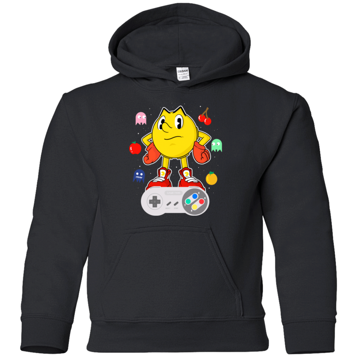 Lever Pac-Man Youth Hoodie