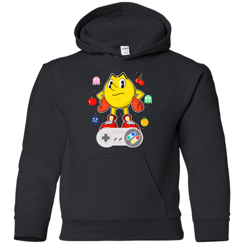 Sweatshirts Black / YS Lever Pac-Man Youth Hoodie