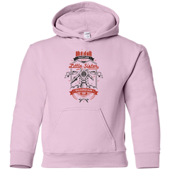 Sweatshirts Light Pink / YS Little Sister Protector V2 Youth Hoodie