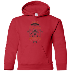 Sweatshirts Red / YS Little Sister Protector V2 Youth Hoodie