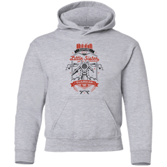 Sweatshirts Sport Grey / YS Little Sister Protector V2 Youth Hoodie