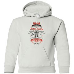Sweatshirts White / YS Little Sister Protector V2 Youth Hoodie