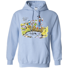 Sweatshirts Light Blue / Small Looking for Adventure Pullover Hoodie