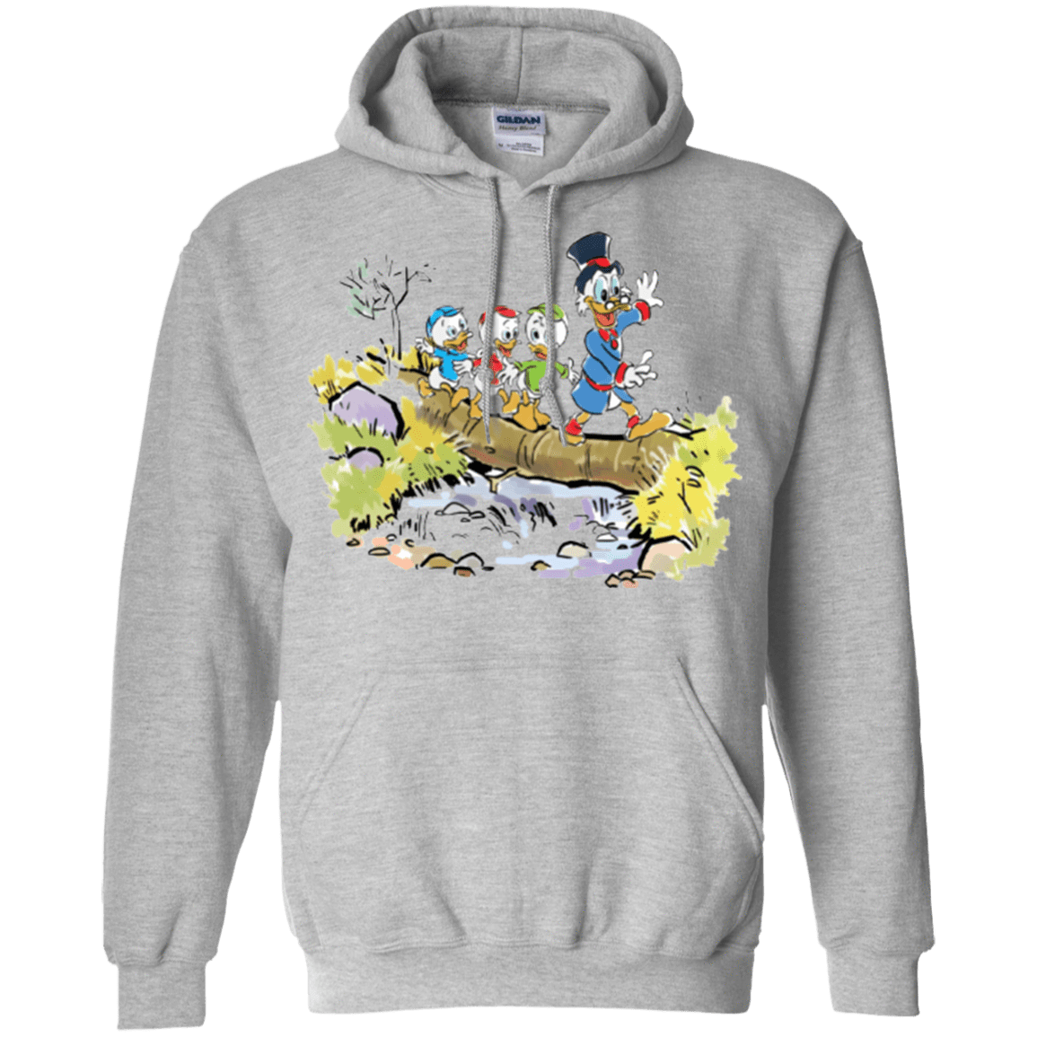 Sweatshirts Sport Grey / Small Looking for Adventure Pullover Hoodie
