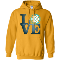 Sweatshirts Gold / Small Love Stark Pullover Hoodie