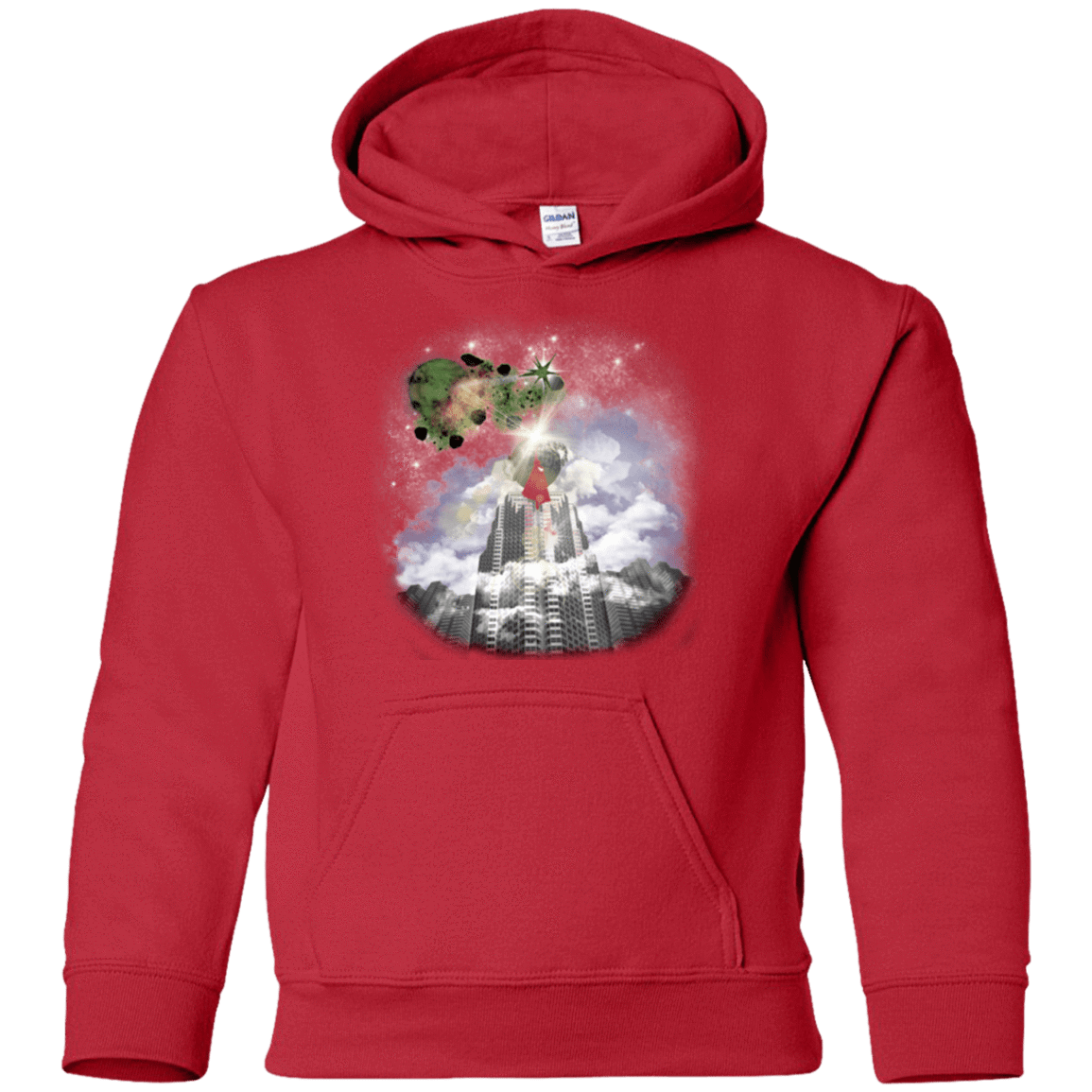 Sweatshirts Red / YS Man of Tomorrow Youth Hoodie