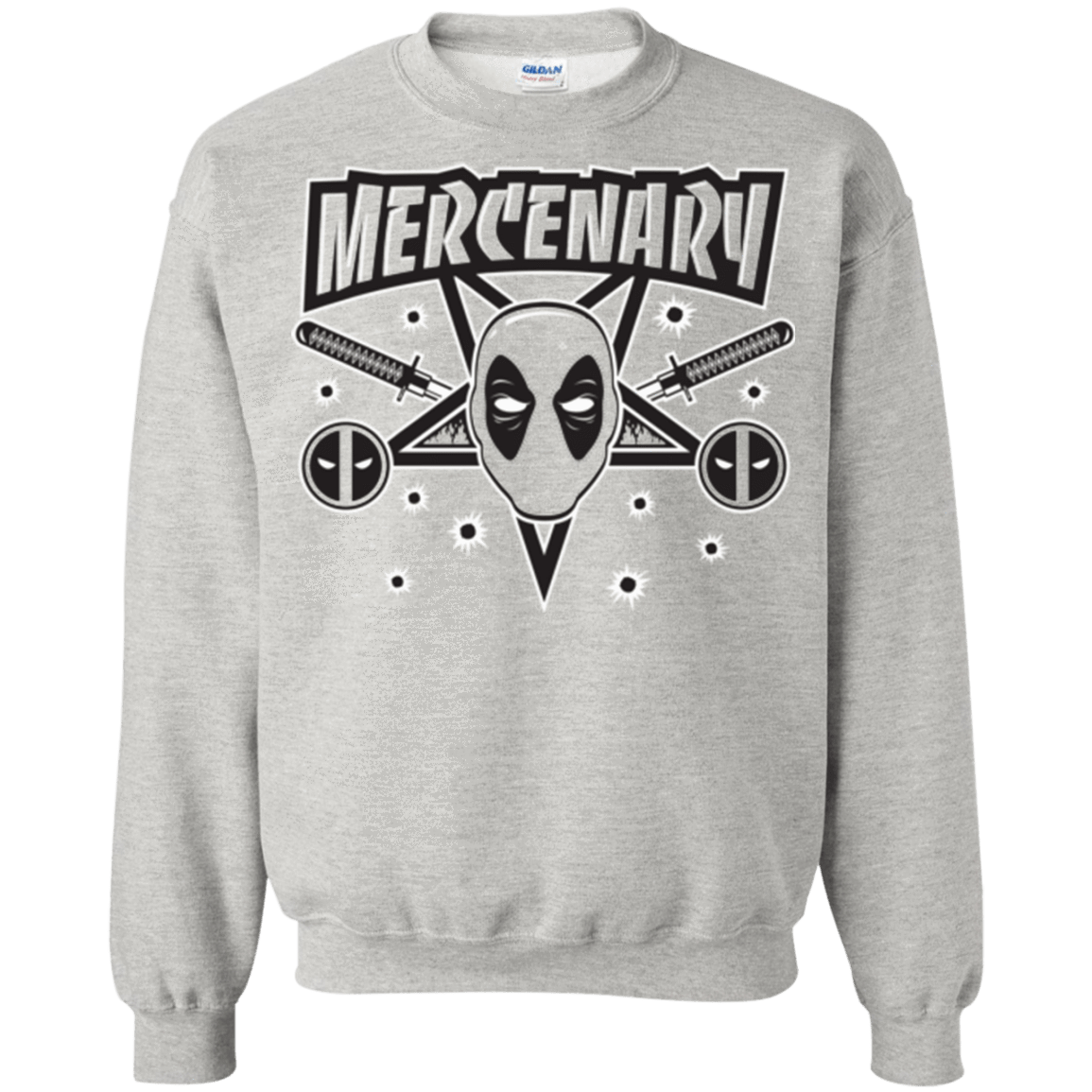 Sweatshirts Ash / Small Mercenary (1) Crewneck Sweatshirt