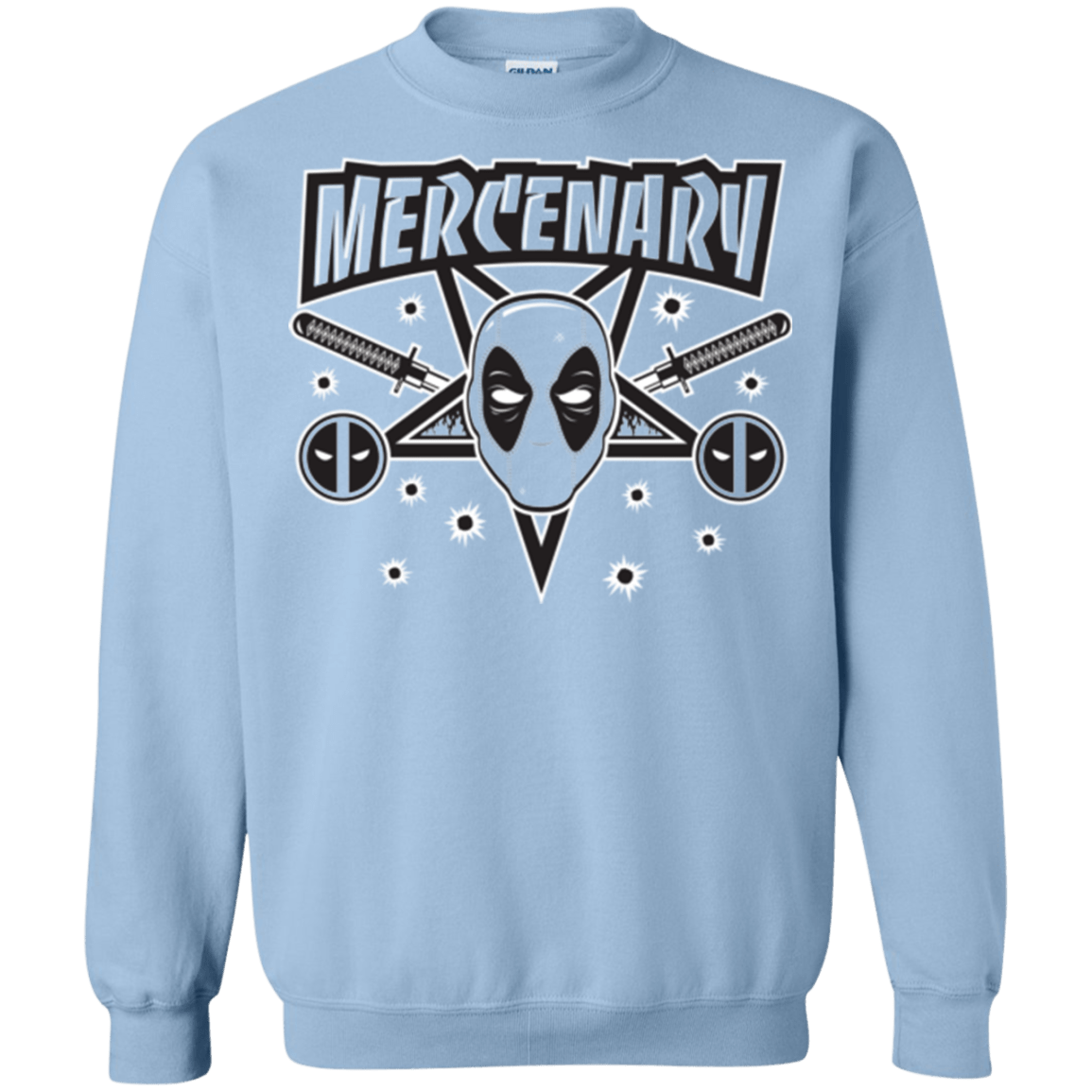 Sweatshirts Light Blue / Small Mercenary (1) Crewneck Sweatshirt