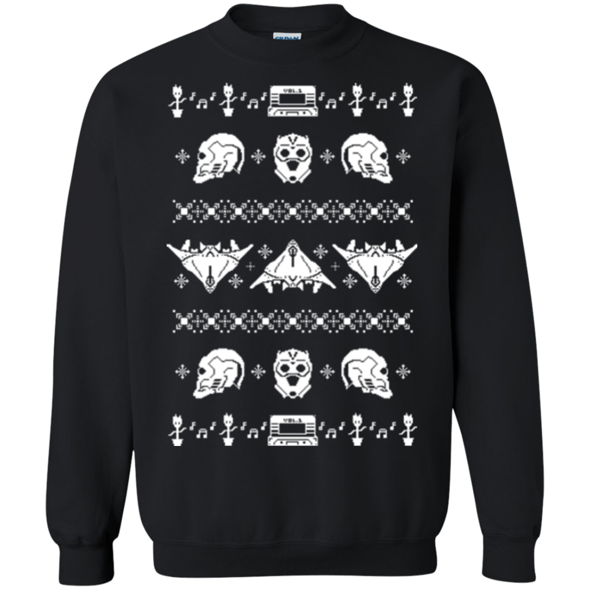 Sweatshirts Black / Small Merry Christmas A-Holes 2 Crewneck Sweatshirt