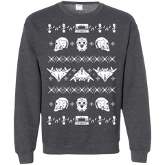 Sweatshirts Dark Heather / Small Merry Christmas A-Holes 2 Crewneck Sweatshirt
